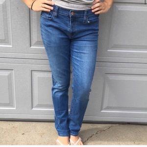 J. Crew Skinny Light wash Matchstick Jeans